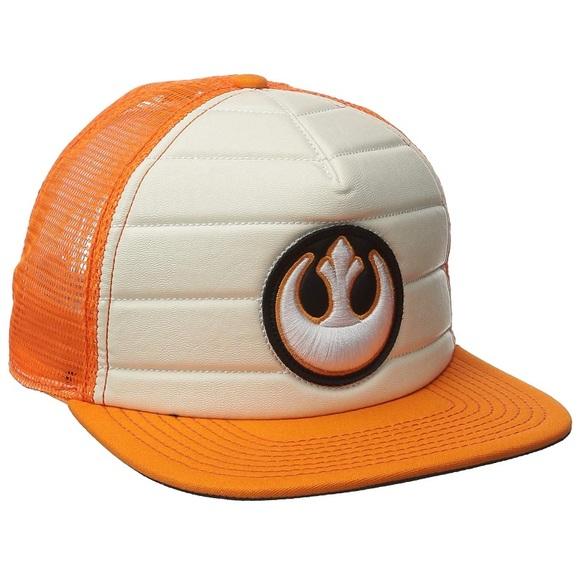 Disneyland parks Star Wars Rebel Trucker hat 4cd507ac39a